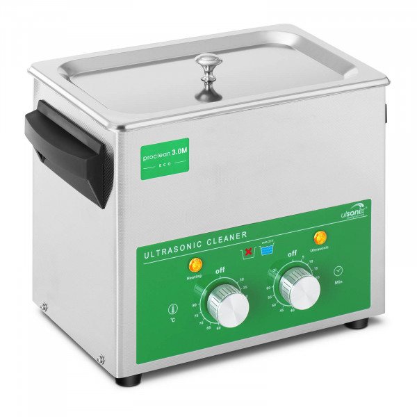 Ultrasonic Cleaner - 3 Litres - 80 W - Basic Eco