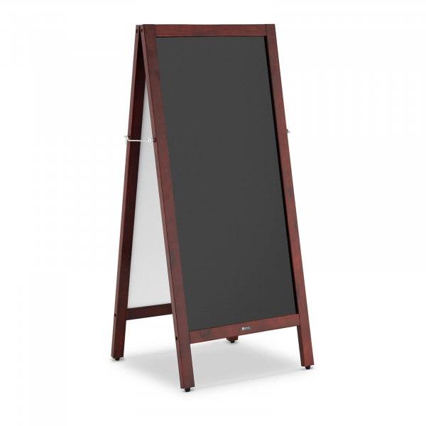 Sandwich Board - 45 x 90 cm - magnetic & writable blackboard - two-sided