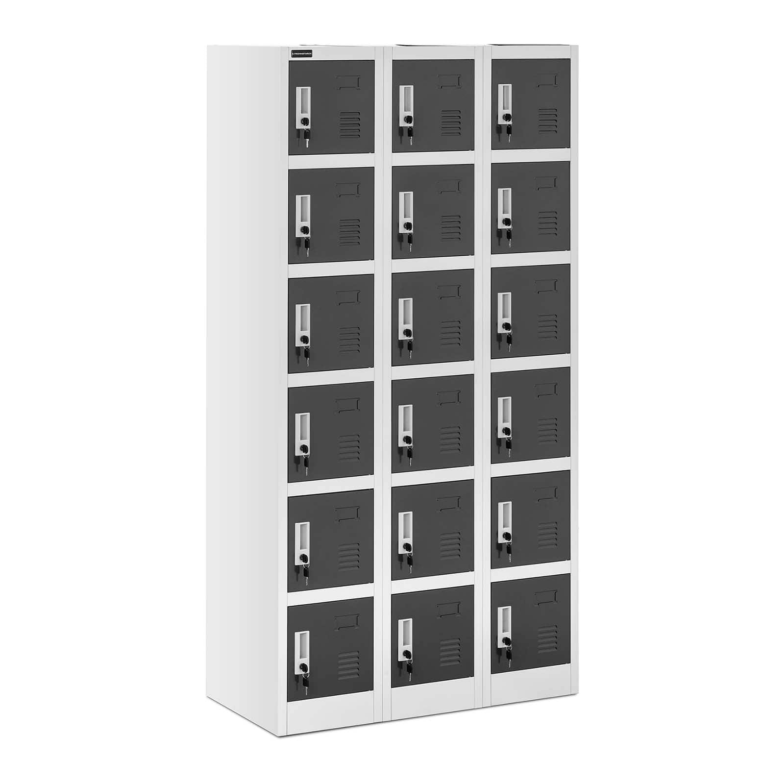 Storage lockers for staff, offices and industry