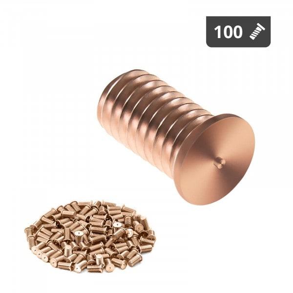 Stud Welder Set - M6 - 12mm - steel - 100 pieces