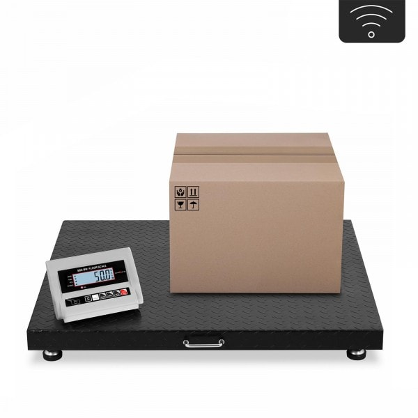 Floor Scale - 3 t / 1,000 g - LCD - wireless