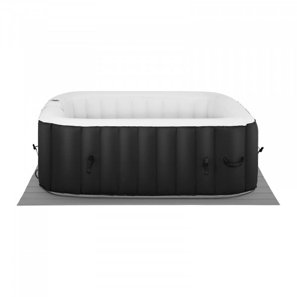 Factory second Inflatable Hot Tub - 900 L - 6 people - 130 nozzles - black/white