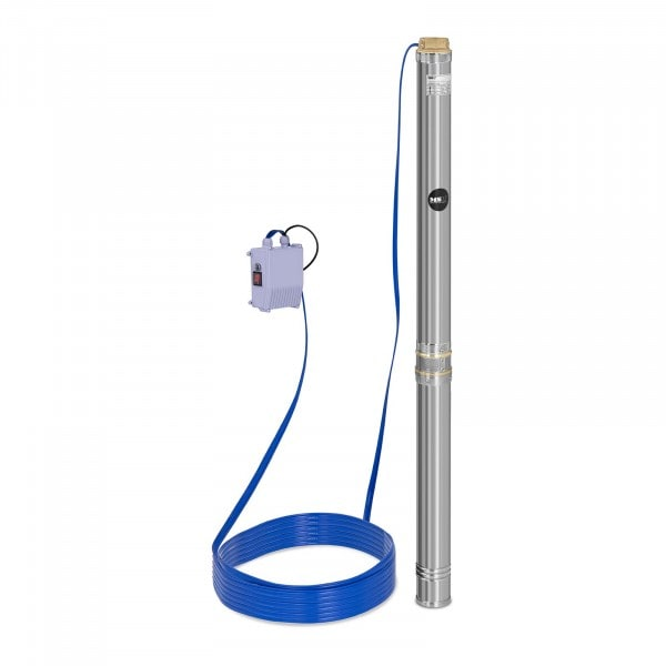 Well Pump - 10,800 L/h - 2,200 W - Stainless Steel