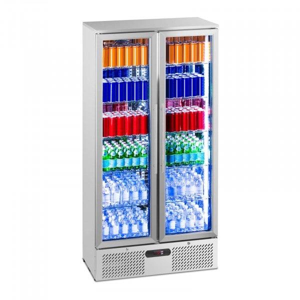 Beverage refrigerator - 458 L - stainless steel