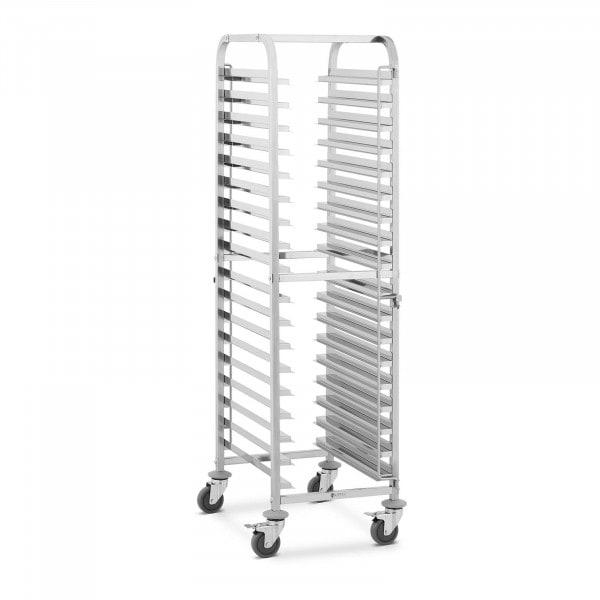 Tray Trolley - 18 slots - 112 kg