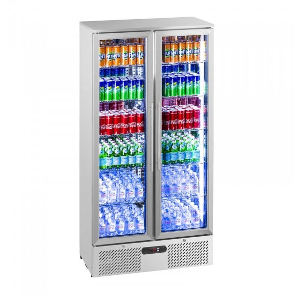 Factory seconds Beverage refrigerator - 458 L - stainless steel