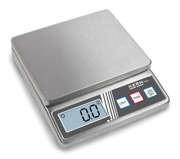 KERN Bench scale FOB-S 5 kg / 1 g