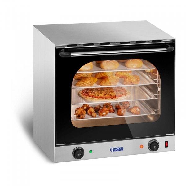 Countertop Convection Oven - Timer - Incl. 4 Plates