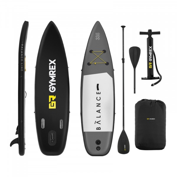 B-WARE Inflatable SUP Board - 145 kg - 335 x 71 x 15 cm