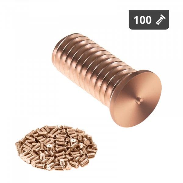 Stud Welder Set - M4 - 10mm - steel - 100 pieces
