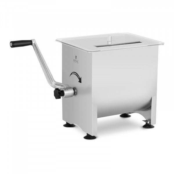 Meat Mixer - 16 L - stainless steel - manual