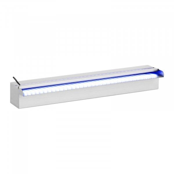 B-WARE Water Spillway - 60 cm - LED lighting