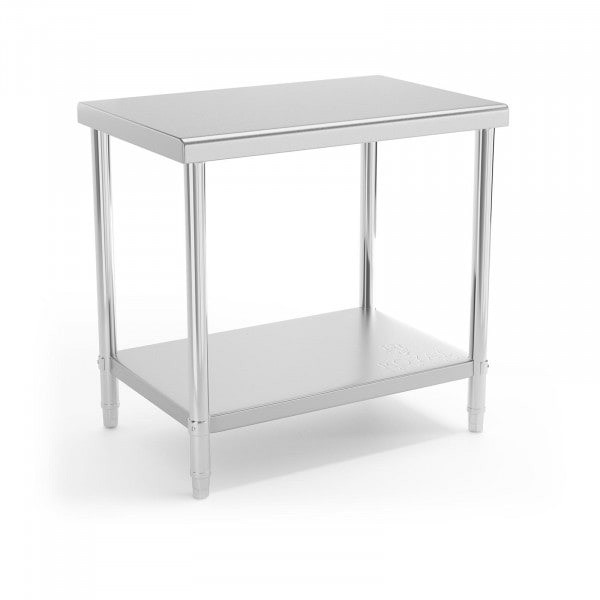 Stainless Steel Work Table - 90 x 60 cm - 210 kg load capacity