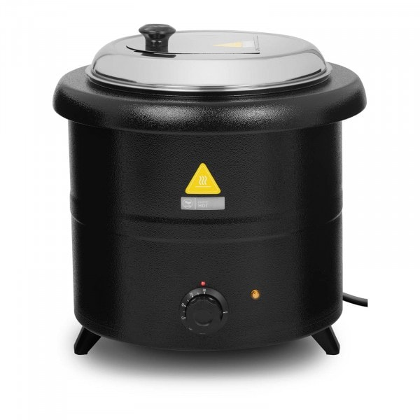 Soup Kettle - 13 L - 600 W - black