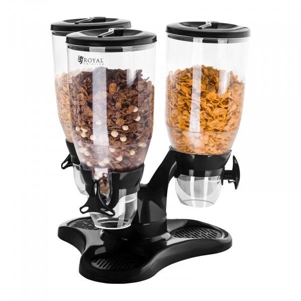 Cereal Dispenser - Triple - 9 Litres