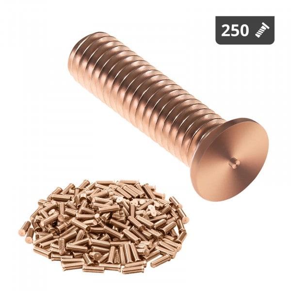 Stud Welder Set - M3 - 12mm - steel - 250 pieces