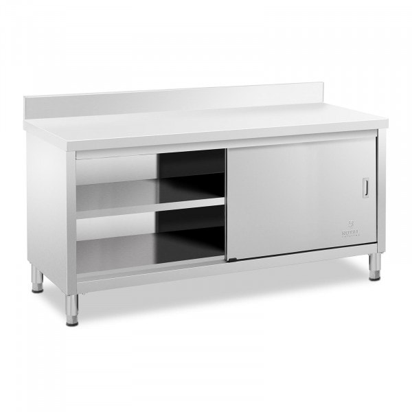 Work Cabinet - upstand - 180 x 60 cm - 600 kg load capacity