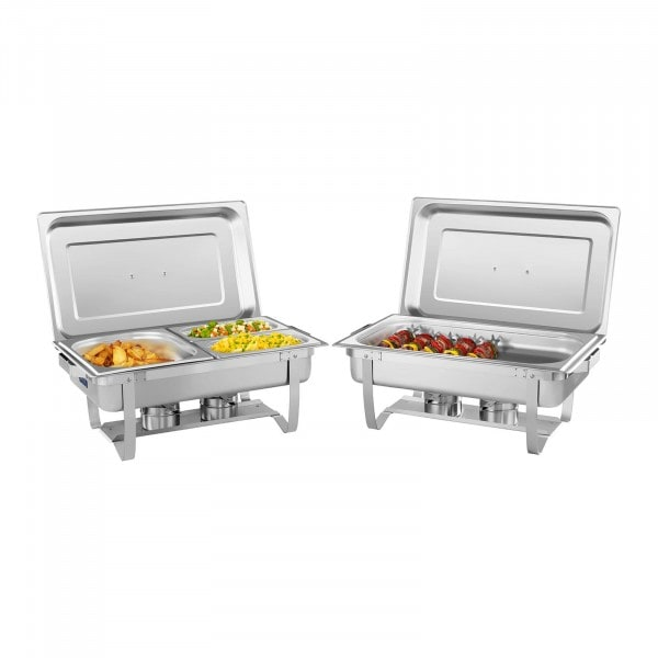 Chafing Dish Set 2-Part - 53 cm - Incl. GN Container