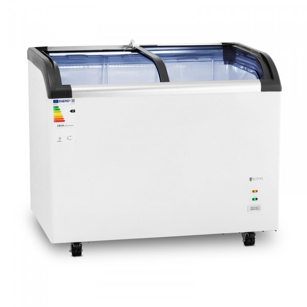 Chest Freezer - 273 L - Royal Catering - glass doors