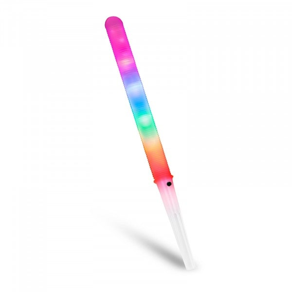 LED Cotton Candy Sticks - 7 modes - BPA-free plastic - batteries included - 50 pcs