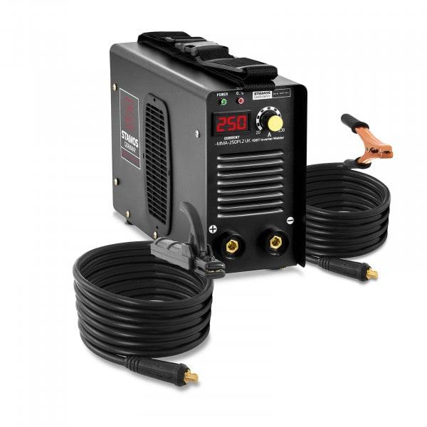 Electrode welder - 250 A - 8 m cable - Hot Start - PRO