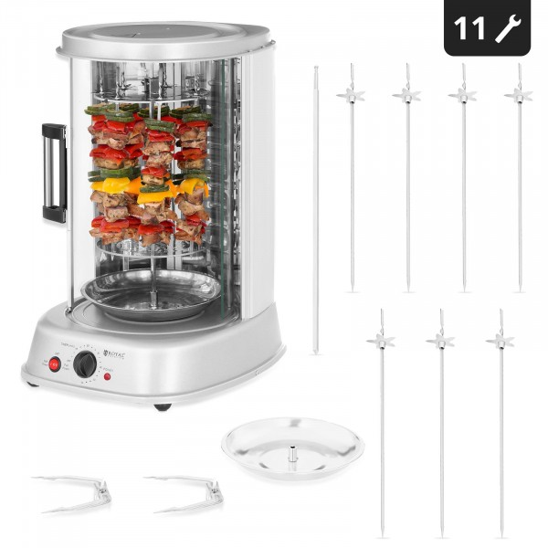 Factory seconds Tower Rotisserie - 3-in-1 - 1.800 W - 31 L