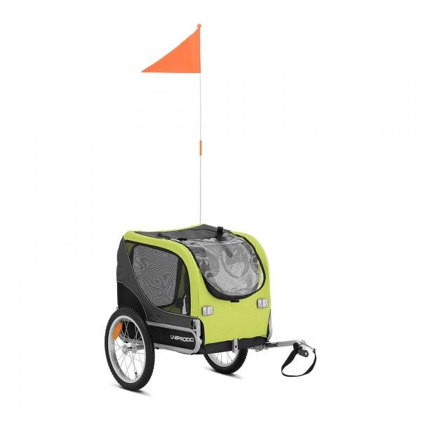 Pet Bike Trailer - 20 kg - reflectors - tarpaulin