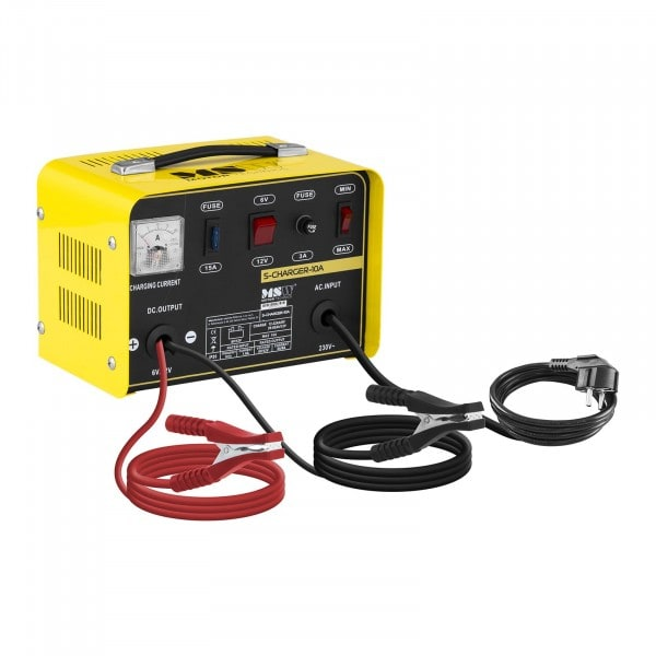 Heavy Duty Battery Charger - 6/12 V - 5/8 A