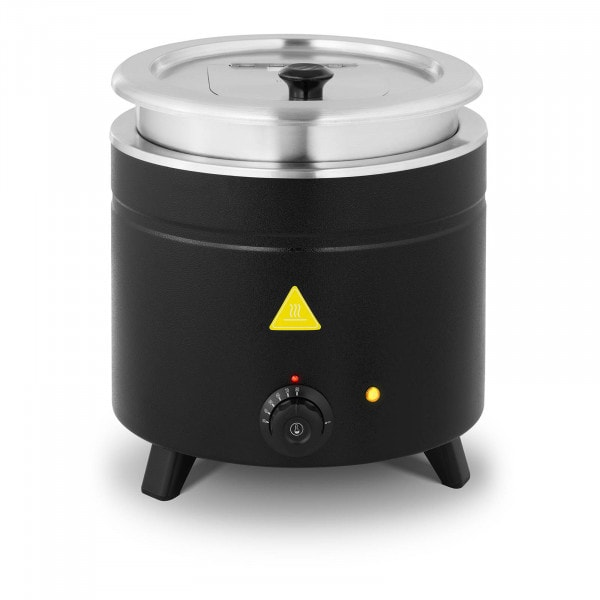 Soup Kettle - 11 L - Stainless steel - black-coated