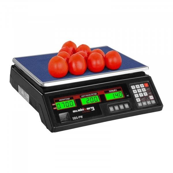 Price Scale - 35 kg / 2 g - Black - LCD