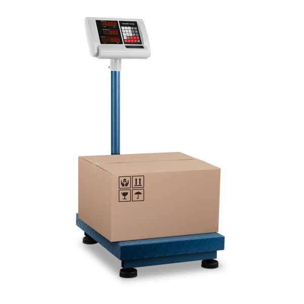 B-WARE Platform Scale - 150 kg / 10 g - 40 x 50 cm - compact