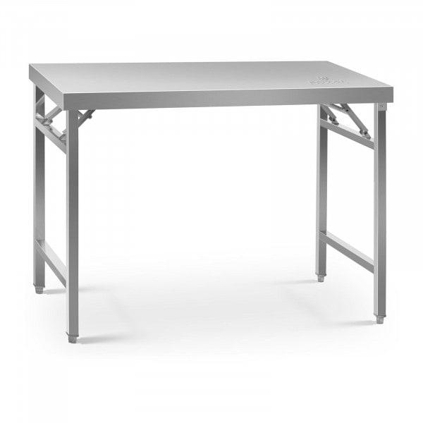 Folding Work Table - 70 x 120 cm - 215 kg load capacity