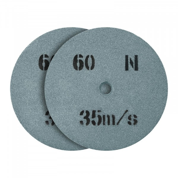 Spare Wheel For Bench Grinder 150 x 16 mm - 60 Grain