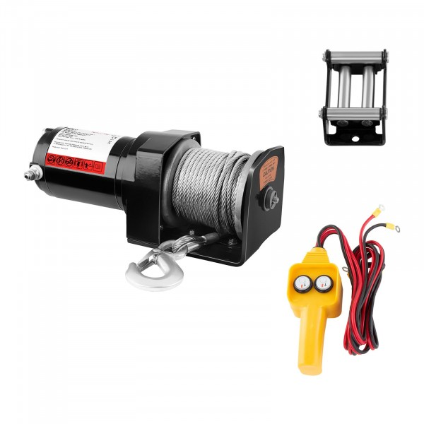 Electric Winch - 907 kg - 2.000 lbs