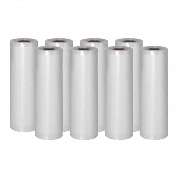 Vacuum Seal Bags - 8 Rolls - 48 m - 20 cm