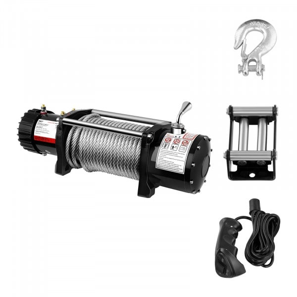 Electric Winch - 6.136 kg - 13.500 lbs