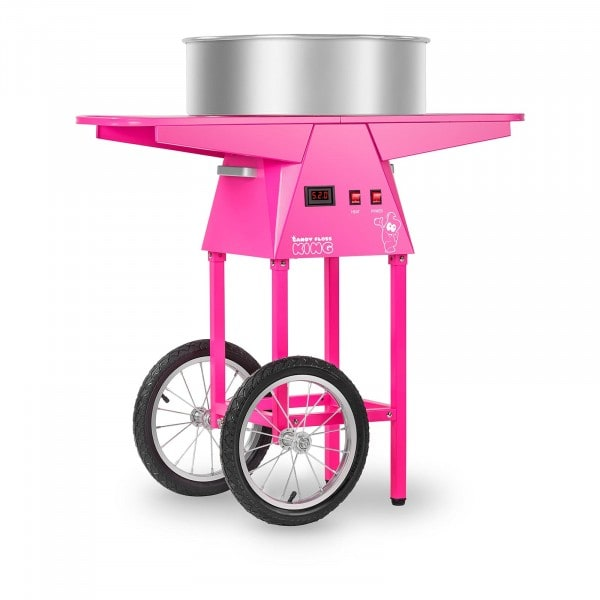 Candy Floss Machine With Trolley - 52cm - 1,030 Watts