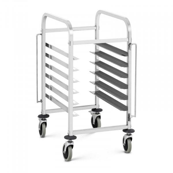 Tray Trolley - 6 GN slots - 60 kg