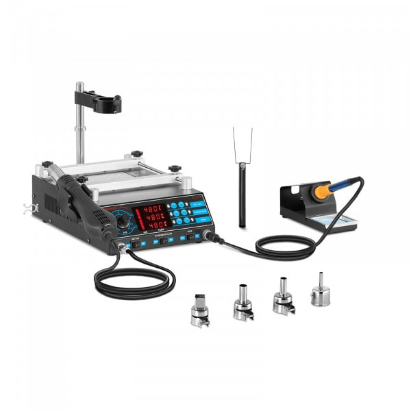 Soldering Station with Pre-Heater and 2 Racks – Basic
