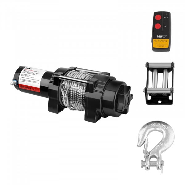 Electric Winch - 1.590 kg - 3.500 lbs - 15,5 m
