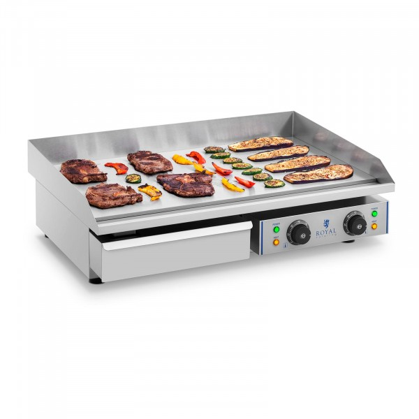 Electric Griddle - 72.5 cm - smooth - 2 x 2.2 kW