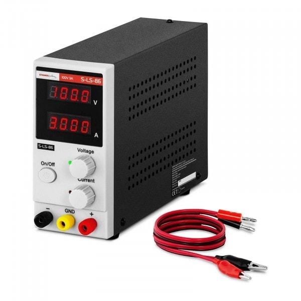 Laboratory Power Supply - 0-100 V - 0-3A DC - 300 W