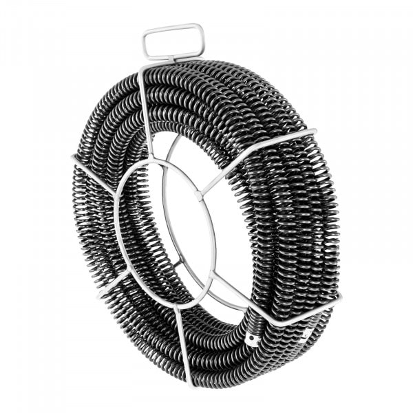 Plumbing Snake Cables - Set of 3 x 4,6 m - Ø 22 mm