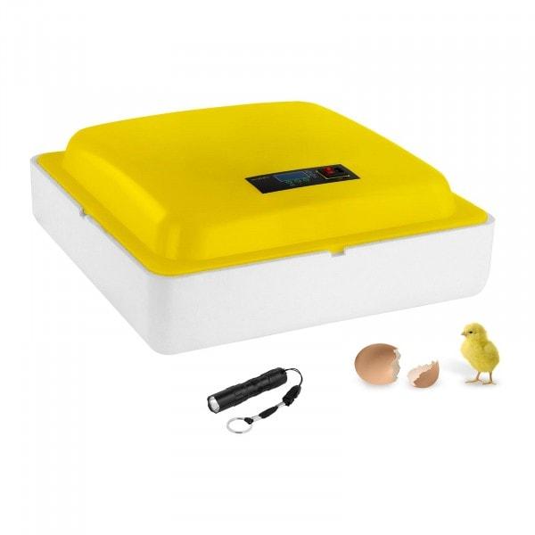 B-WARE Egg Incubator - 88 Eggs - Including Egg Candler