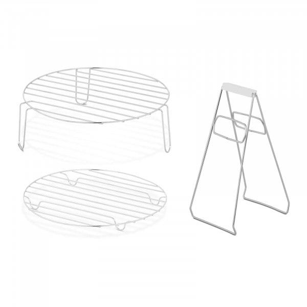 Halogen Oven Accessory Set - High Rack - Low Rack - Tongs