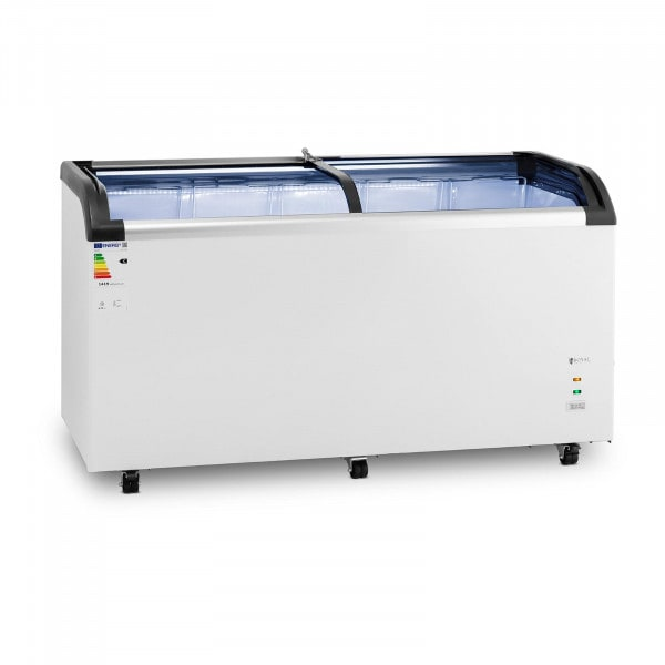 Chest Freezer - 445 L - Royal Catering - glass doors