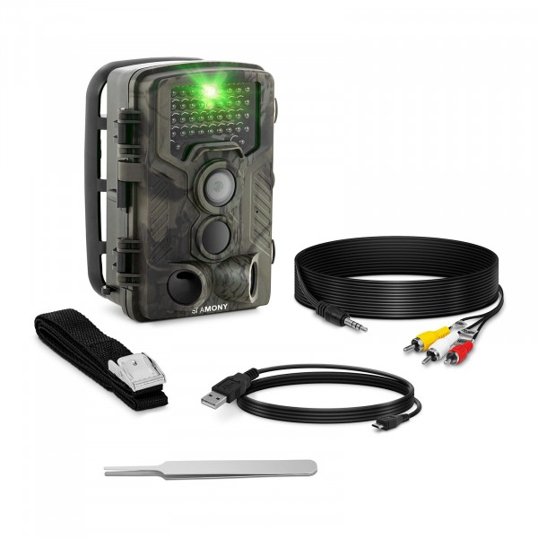Factory second Game Camera - 8 MP - Full HD - 42 IR LEDs - 20 m - 0.3 s - LTE