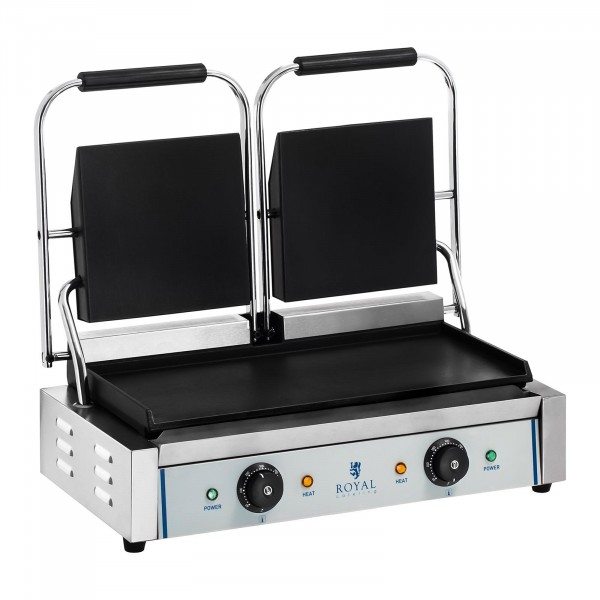 Double Contact Grill - smooth - 2 x 1,800 W