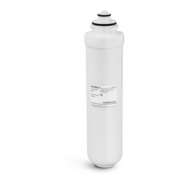 Carbon Composite Filter - 2-part filtration - 1 µm/5 µm