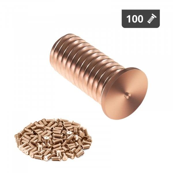 Stud Welder Set - M5 - 12mm - steel - 100 pieces